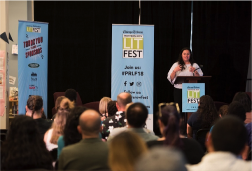 Lit Fest Speaker